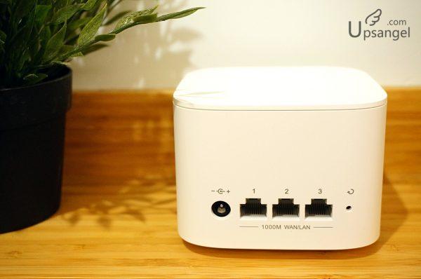 HONOR2沒有區分WAN/LAN的網線接口