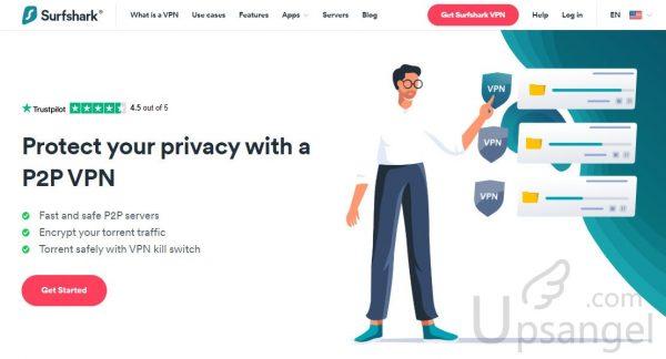 SurfShark VPN P2P 推薦