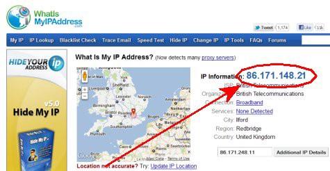 查詢移民留學後的IP地址所在地